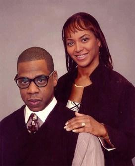 Jay-Z y Beyoncé sin tanto glamour