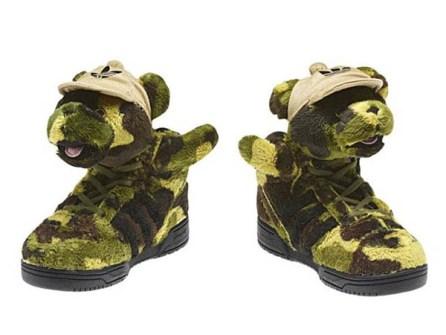 Jeremy Scott - Adidas oso camuflaje