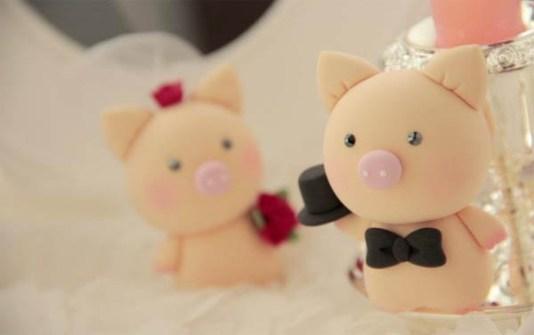 Novios de boda originales