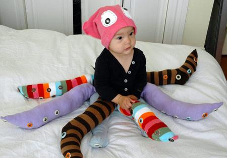 Disfraces originales para bebés - Disfraz de Pulpo