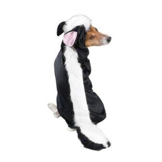 Disfraces para Mascotas en Halloween - Disfraz de mofeta para perros