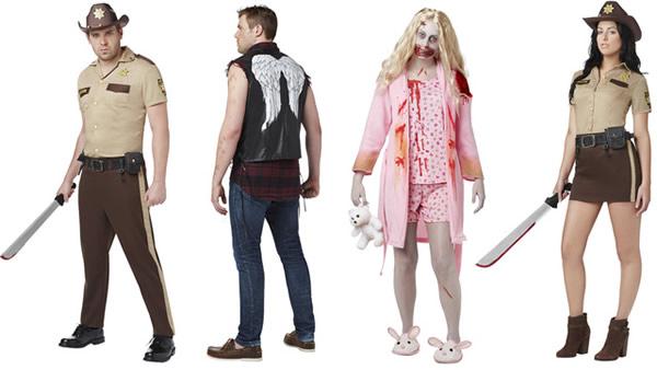 Disfraces de Zombies - Serie Walking Dead