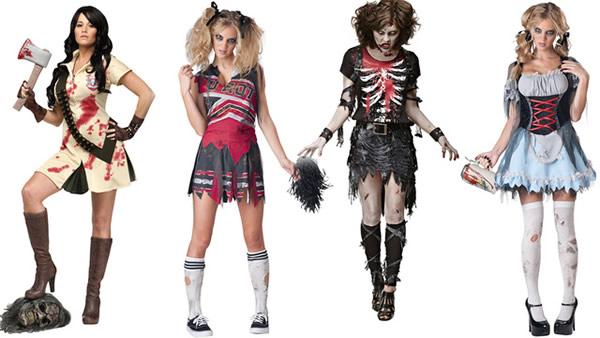 Disfraces de Zombies para Halloween