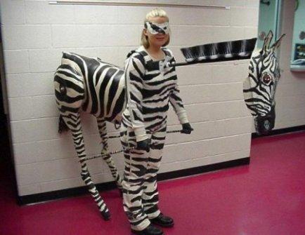 Disfraces originales y fáciles de última hora - Disfraz de Zebra