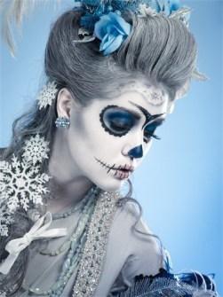 Maquillaje para Halloween Barroco