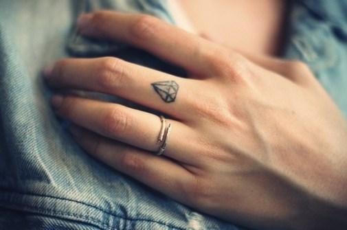 Mini Tatuajes de Diamantes