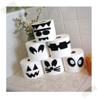 Ideas para Halloween - Monstruos con el Papel Higiénico
