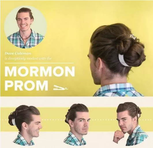 Recogido estilo Mormón
