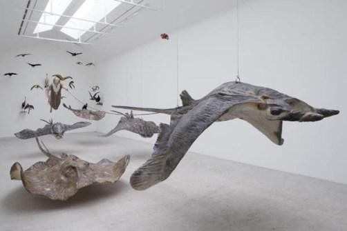 Instalaciones Artísticas - Sun Yuan & Peng Yu - Galería Perrotin en París