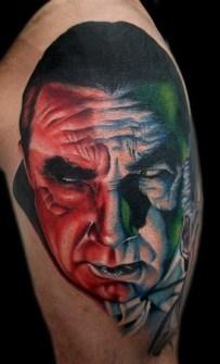 Tatuajes con Drácula