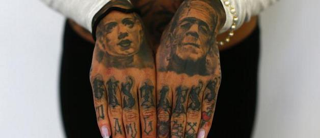 Tatuajes de Frankenstein