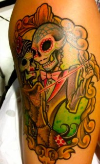Tatuajes con Calaveras para Halloween