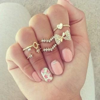 Midi Rings Glamourosos