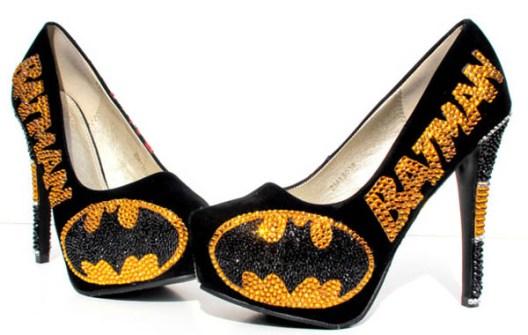 Zapatos Batman  con Cristales de Swarovski