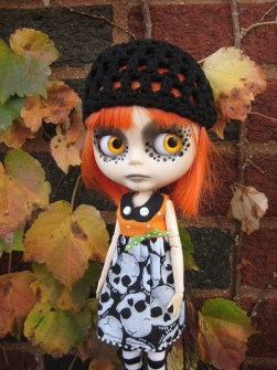 Blythe - Ropa Blythe para Halloween