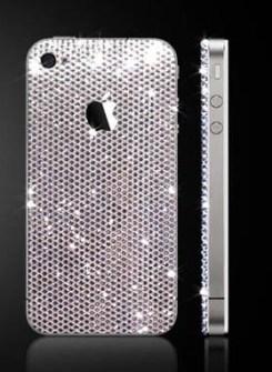 Carcasas móviles  con Cristales de Swarovski