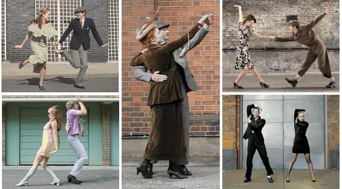 ¿Quieres ver cómo ha evolucionado el Baile en los últimos 100 años?