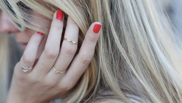 Midi Rings para chicas Girly