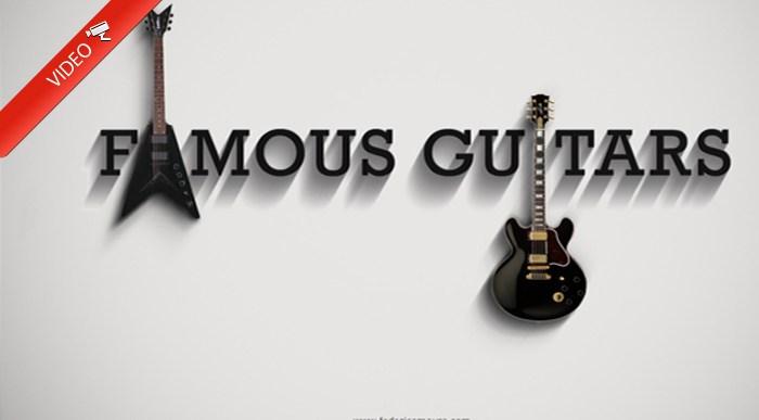 Guitarras que marcaron época.