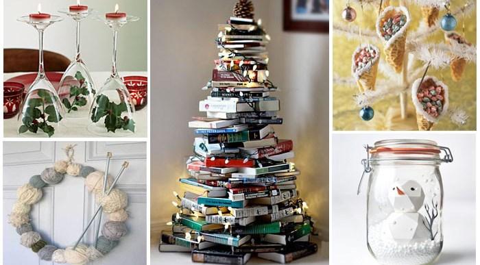 Ideas Originales de Decoración para Navidad.