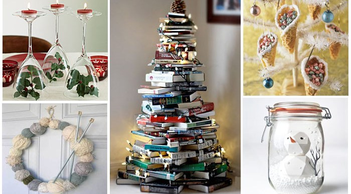 Ideas originales decoracion navidad bernadettes for Ideas originales para decorar en navidad
