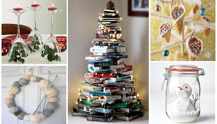 ideas originales de decoracin para navidad