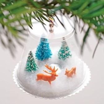 15 Adornos de Navidad que puedes hacer con tus hijos - Adornos de Navidad fáciles y originales