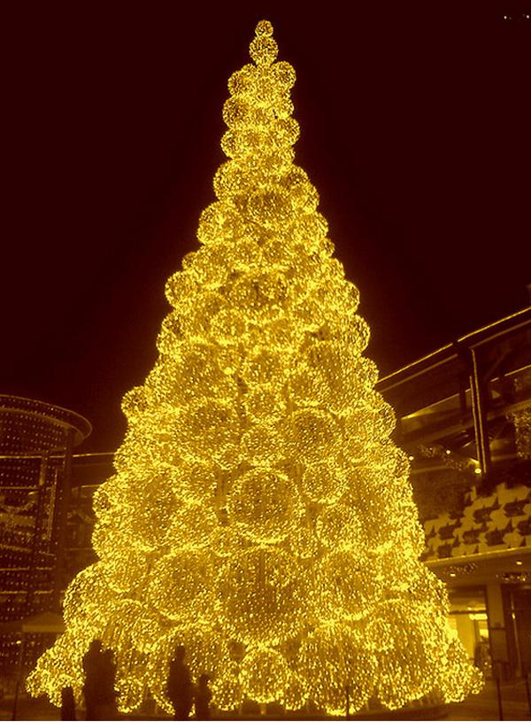 Arboles De Navidad Dorados Rbol De Navidad Decoracin Navidea Rbol - Arboles-de-navidad-dorados