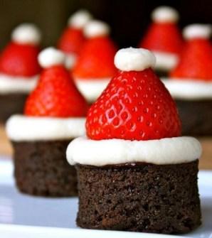 Christmas Cupcakes - Santa cupcakes para Navidad
