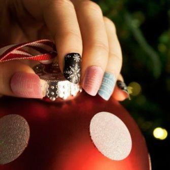 Ideas para Decorar Uñas en Navidad - Christmas Art Nail