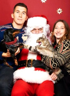 Ideas divertidas para la Felicitación de Navidad - Felicitaciones de Navidad con Mascotas