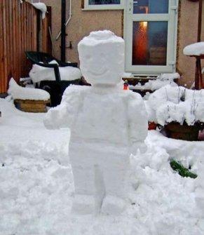 Muñecos de Nieve Divertidos y Originales - LEGO