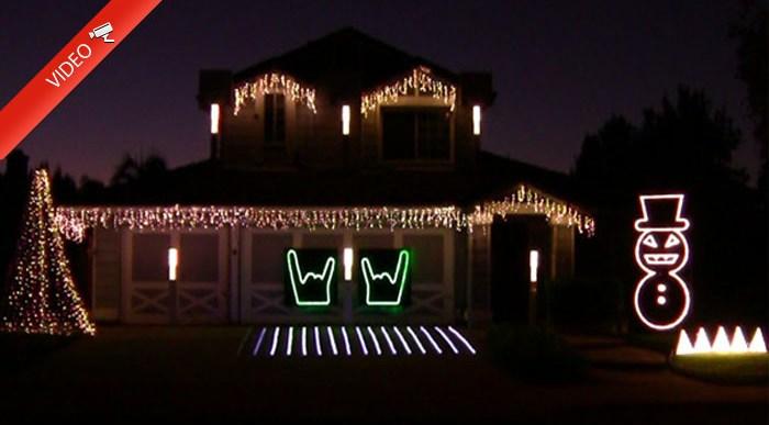 Las Luces de Navidad más Cañeras a ritmo de Metallica.