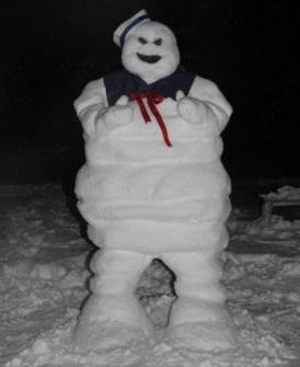 Muñecos de Nieve Divertidos y Originales - Marshmallow