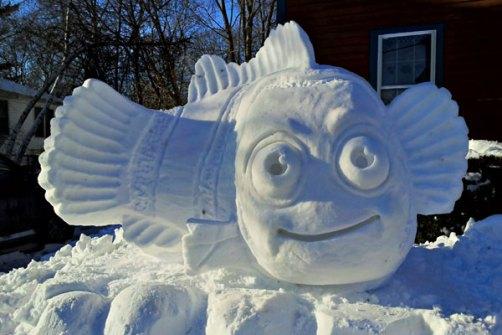 Muñecos de Nieve Divertidos y Originales - Nemo