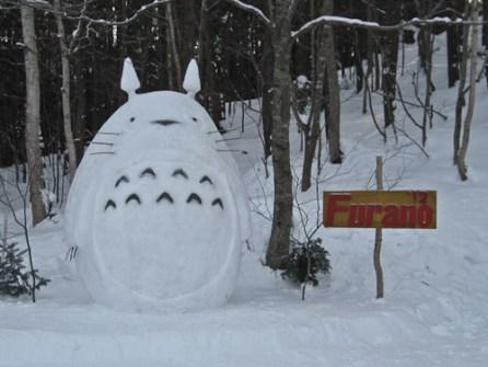 Muñecos de Nieve Divertidos y Originales - Totoro