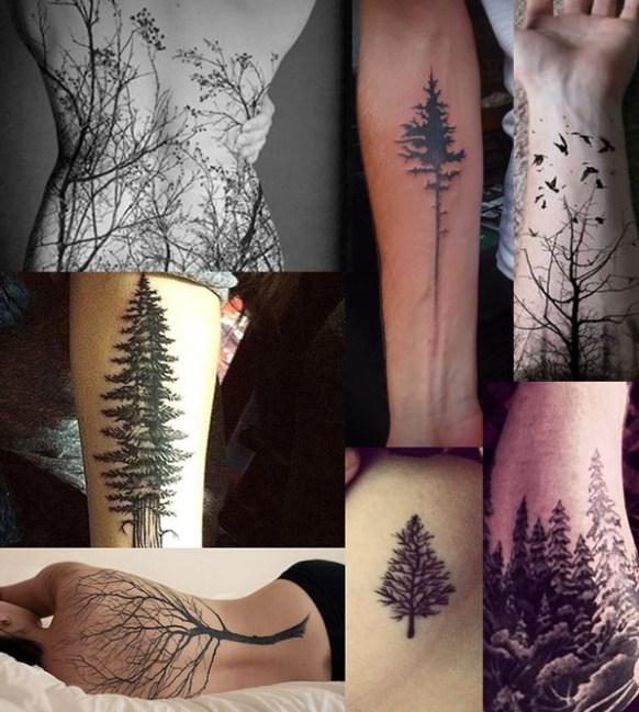 Tatuajes árbol