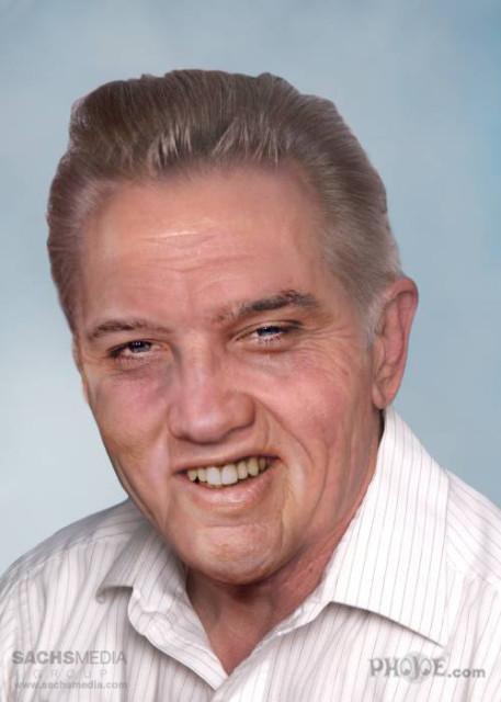 Leyendas del Rock si vivieran hoy - Elvis Presley