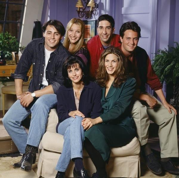 Han pasado 20 años del Estreno de Friends