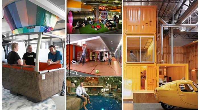 Las 7 Mejores Oficinas del Mundo en las que Soñarías Trabajar.