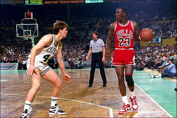 Michael Jordan hace más de 20 años