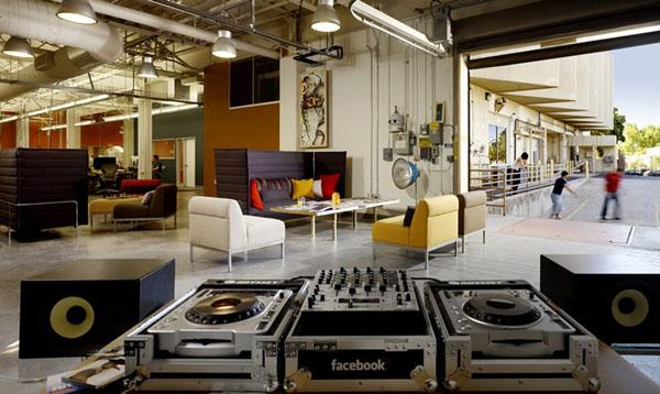 Las 7 Mejores Oficinas del Mundo en las que Soñarías Trabajar - Oficinas de Facebook