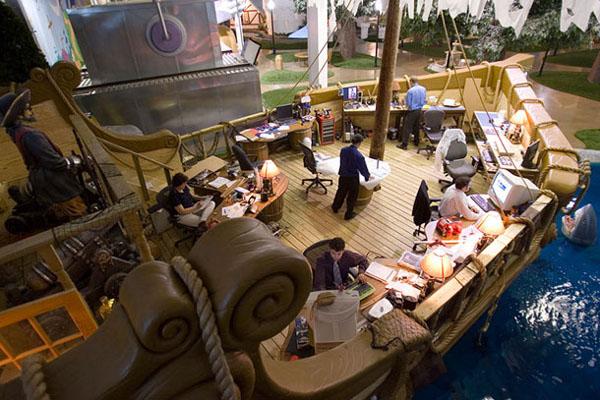 Las 7 Mejores Oficinas del Mundo en las que Soñarías Trabajar - Inventionland Design Factory