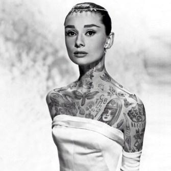 Tus Mitos Tatuados - Audrey Hepburn