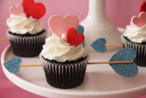 Regalos DIY para San Valentín - Prepara Cupcakes con Corazones