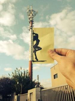 Máxima Creatividad en un pequeño Post-it - Pole Dance