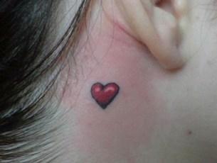 Tatuajes Inspiradores para San Valentín - Mini Tatuajes Corazones