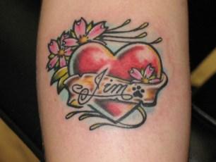Tatuajes Inspiradores para San Valentín - Tatuajes de Corazones para chicas