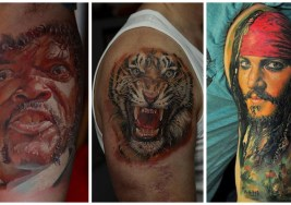 17 de los Mejores Tatuajes Realistas del Mundo.