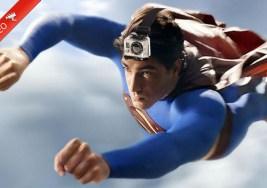 Acompaña a Superman en uno de sus vuelos con una GoPro.
